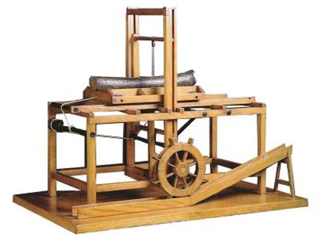 Leonardo da vinci le invenzioni timeline timetoast for Invenzioni di leonardo da vinci
