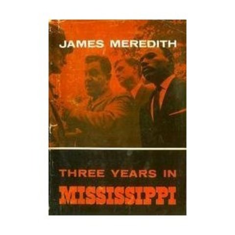 "Published his Book ""Three Years in Mississippi"""