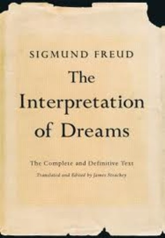 Sigmund publishes his book the interpretation of dreams