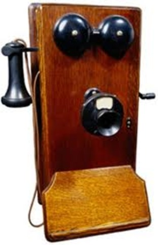 World event: Alexander Graham Bell invents the telephone