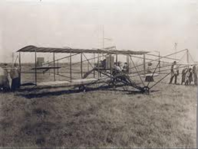 World event: The wright brothers fly the first airplane