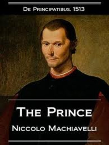 Niccolo Machiavelli writes The Prince