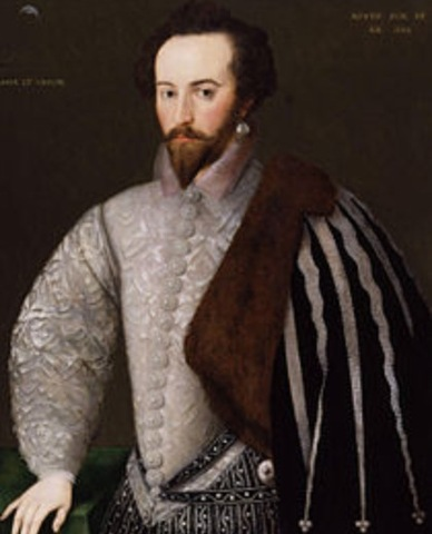 Sir Walter Raleigh tries to establish Roanoke