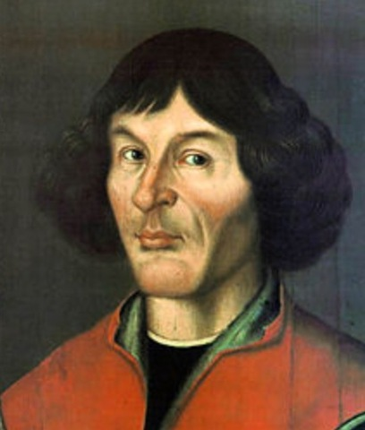 Nicholas Copernicus publishes on the revolution of the celestial spheres