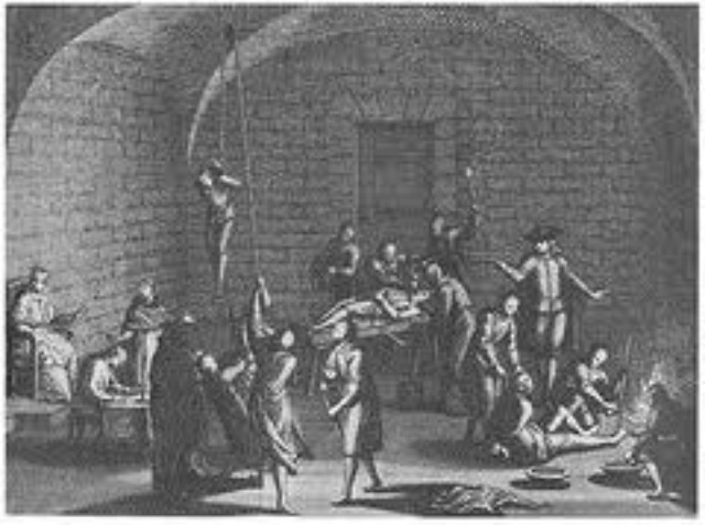 Spanish Inquistion is introduced