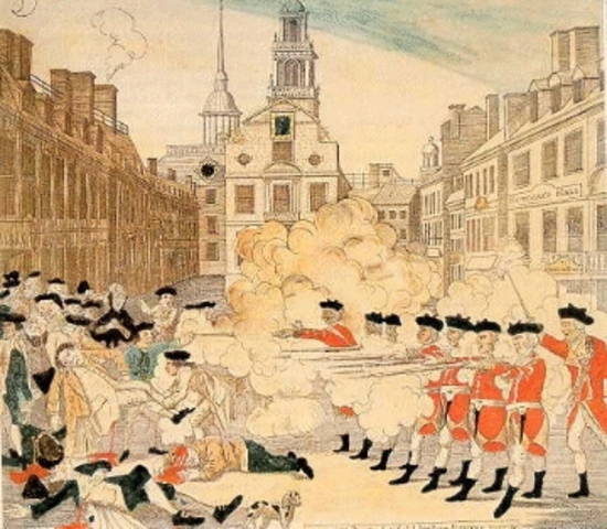 the boston massacre as a turning point in the revolutionary era Revolutionary era, a the boston massacre it was significant because it was a turning point i the war you might like:.
