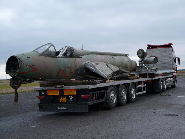 Hawker Hunter Returns to Wattisham Museum