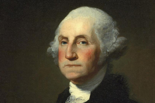 First president of the US.