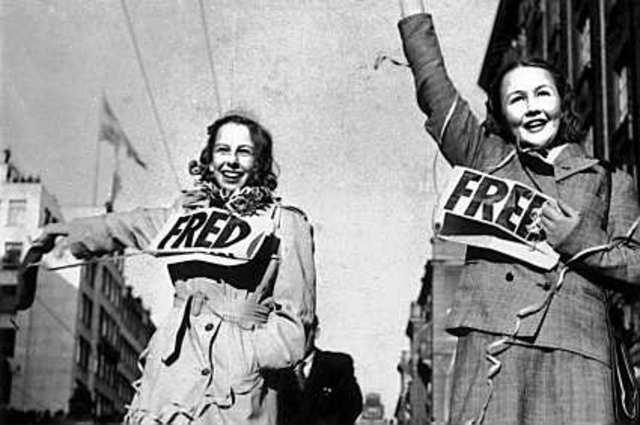 Bildresultat för kriget slut 1945