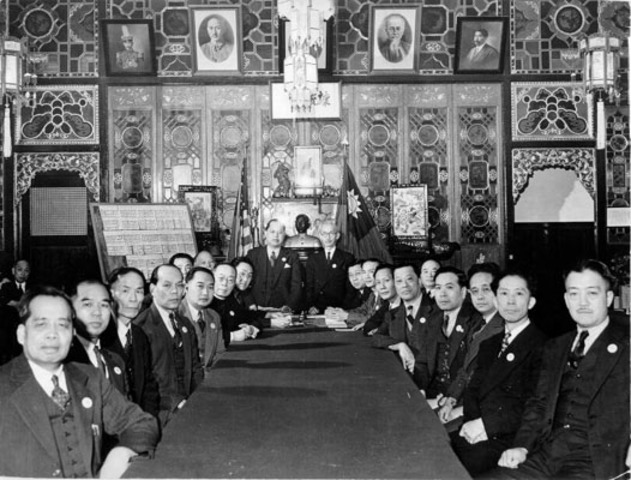 First Chinese Consolidated Benevolent Association or Six Companies