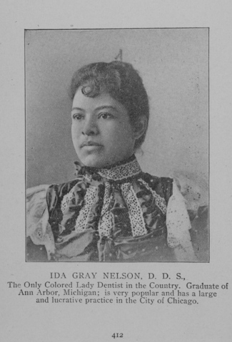 Ida Gray Nelson, first African American woman dentist