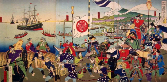 a history of the tokugawa shogunate a period in japanese history History of japan: a summary of feudal and modern japan the tokugawa period was actually quite peaceful and this of course helped the history of japanese garden.