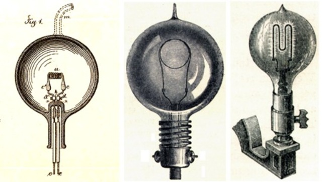 History of the Lightbulb timeline   Timetoast timelines