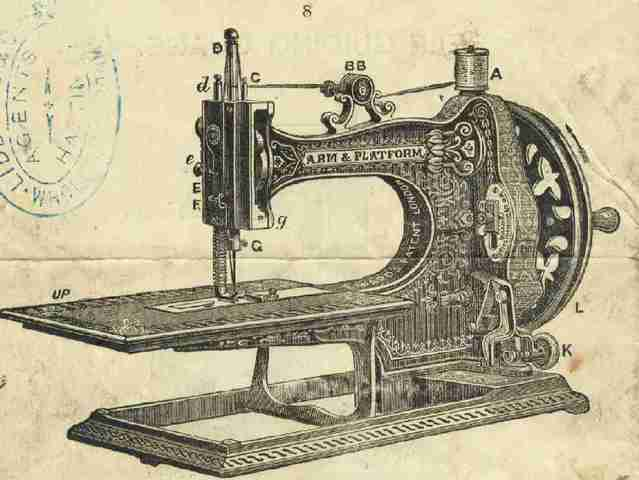 First Sewing Machine Invented