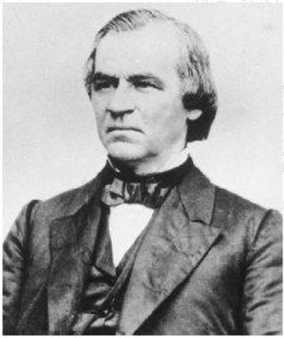 a history of president andrew johnson as an american hero