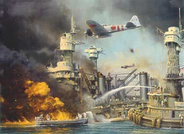 Japanese attack on Pearl Harbour