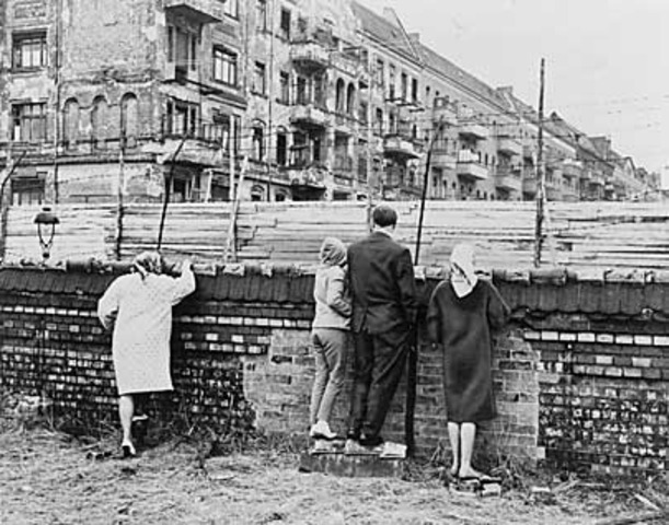 The fall of the berlin wall timeline timetoast timelines