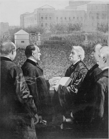 William McKinley Inaugurated President