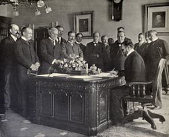 Signed Treaty of Paris