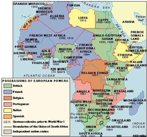 Causes Of Imperialism In Africa Essay