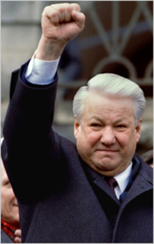 Boris Yeltsin survives impeachment