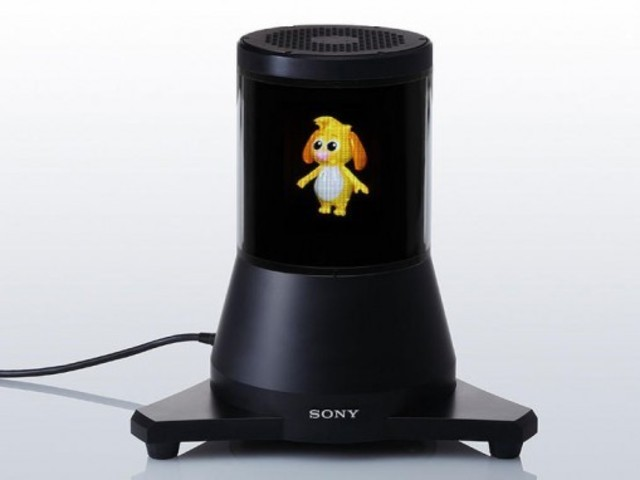 Sony 3D-360 Hologram