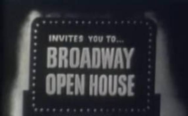 Broadway Open House airs