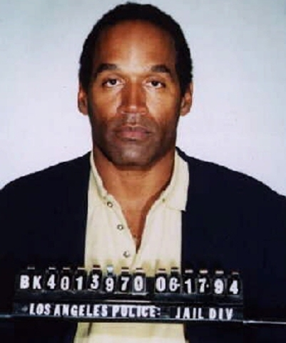 O.J simpson found guilty