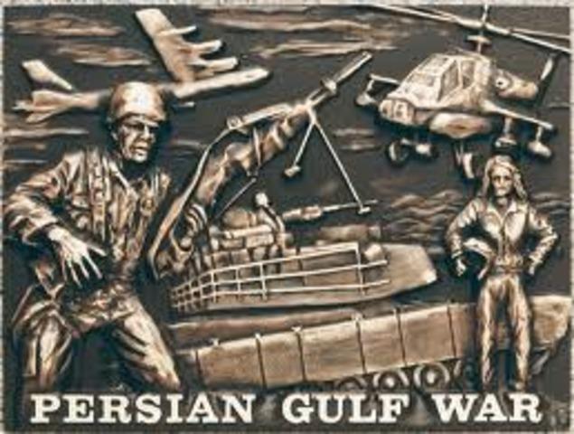 Persian gulf war 2 summary