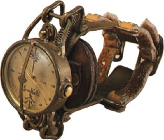 Coolest Hat Ever >> evolution of wrist watches timeline | Timetoast timelines