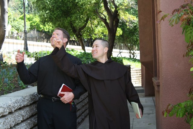 Discalced Carmelite order comes to man