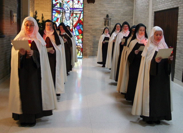 The Carmelite Orders are split