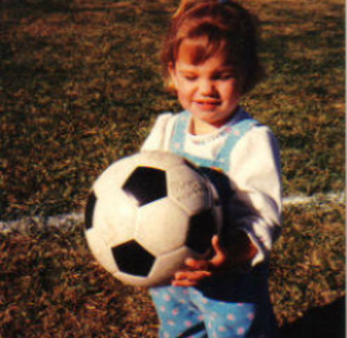 Alex Morgan was born