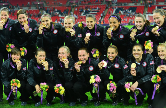 Alex & the U.S. Women's Team Won Gold in 2012 Olympics