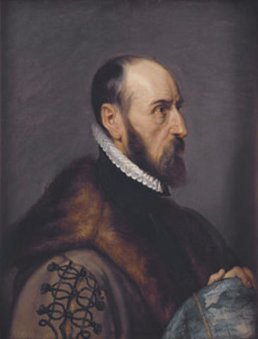 Abraham Ortelius Notices Shape of Continents