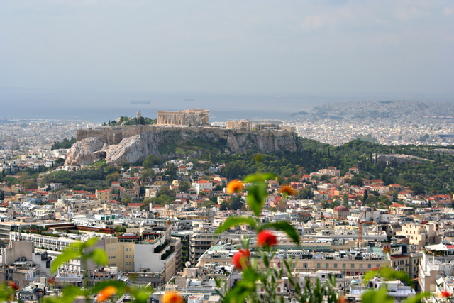 Athens hosts the Olympic Games