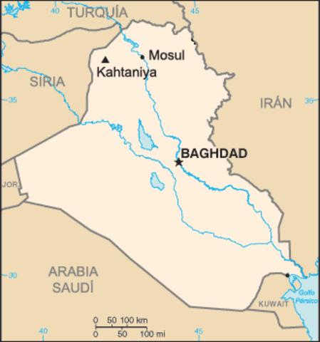 Multiple suicide bombings kill 796 people in Kahtaniya, northern Iraq
