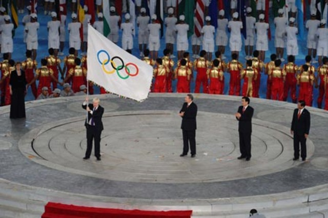 Beijing hosts the Olympic games