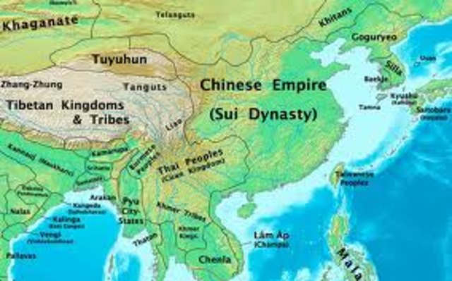 The Fall of the Sui Dynasty