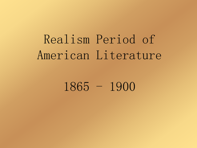 the influence of realism on literature Regionalism and realism in 19th century american literature in century  america the civil war and westward expansion created numerous changes in  society.
