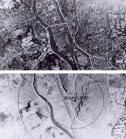 Atomic Bomb Dropped on Hiroshima and Nagasaki Three Days Later