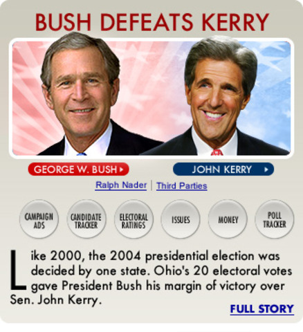 george bush vs john kerry Contents evil seed - bush and kerry are related to dracula (vlad the impaler) the secret society that ties bush and kerry the skull and bones of george bush and john kerry.