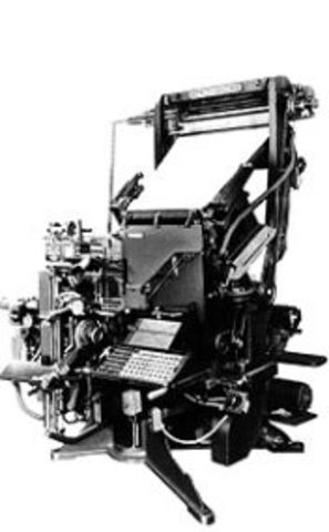 Mergenthaler Invents Linotype