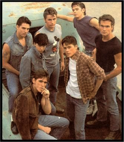 camera views in the outsiders film