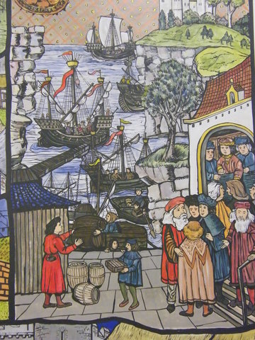 medieval trade in the south pacific The rise in transportation in the middle ages allowed for an increase in trade and travel throughout europe merchants of all types of goods were able to gain access to foreign markets and.