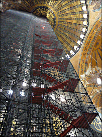 Restoration of Hagia Sophia