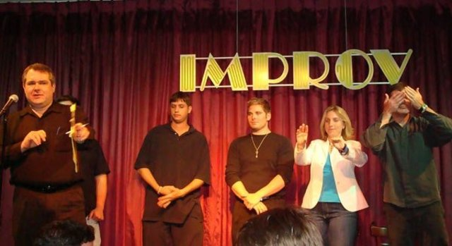 THEY Improv - Todd Rice joins the game