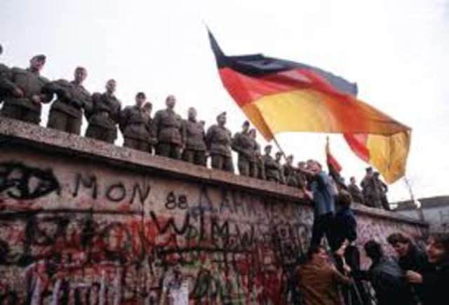 Berlin wall built