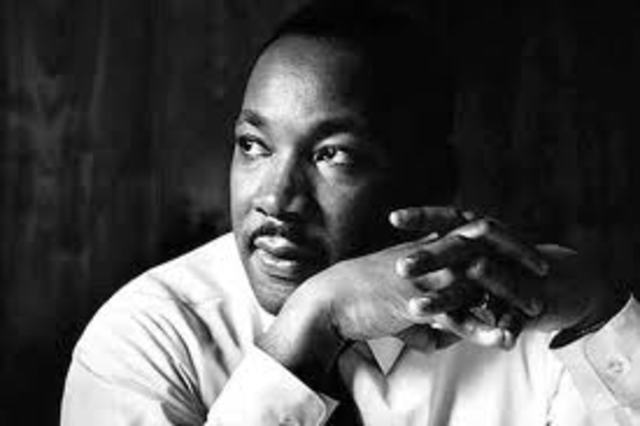 Martin Luther King Jr. Makes His