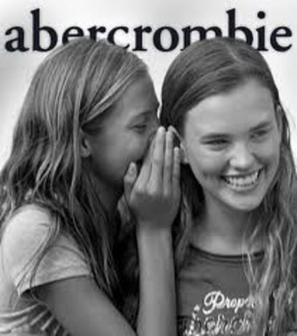 Open Abercrombie Kids, a childrens store.